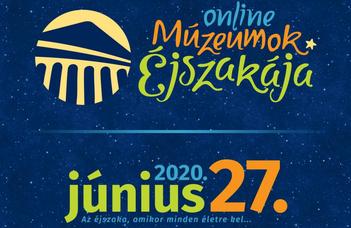 Online Múzeumok Éjszakája